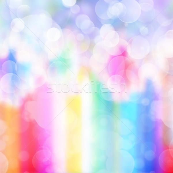Gleaming festive birthday background Stock photo © neirfy