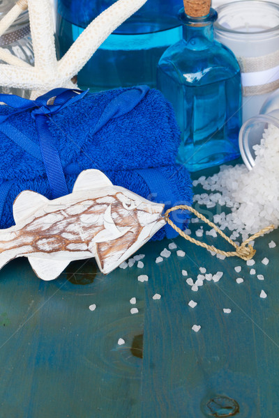 sea salt spa Stock photo © neirfy