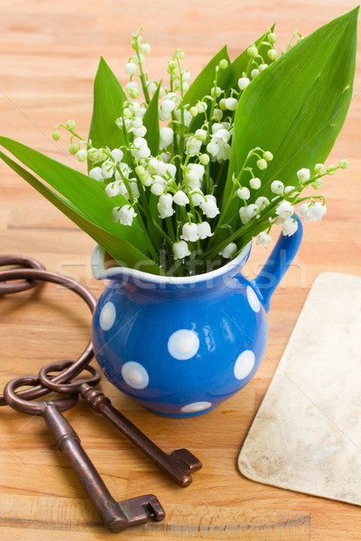 Lilly of the valley bouquet Stock photo © neirfy