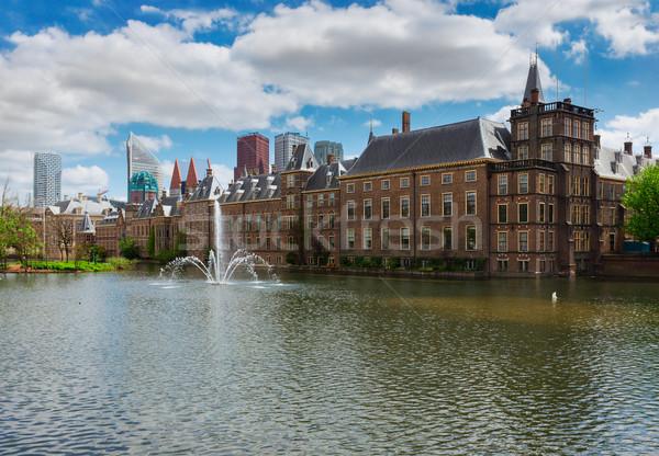 Dutch Parliament, The Hague, Netherlands Stock photo © neirfy
