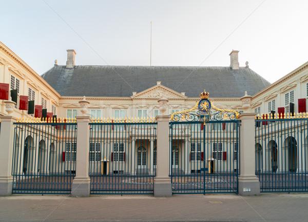 Real palácio Holanda casa edifício metal Foto stock © neirfy