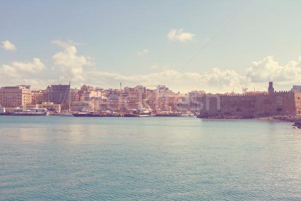 古い ポート ギリシャ ベニスの 港 ストックフォト © neirfy