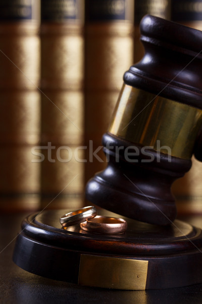 Law and justice concept Stock photo © neirfy