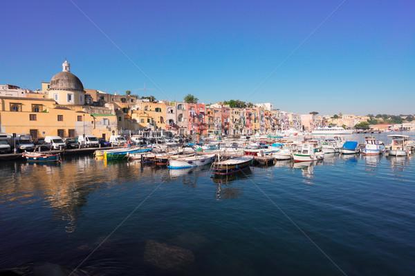 Procida island, Italy Stock photo © neirfy