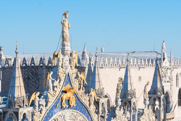Lion symbol of Venice Stock photo © neirfy