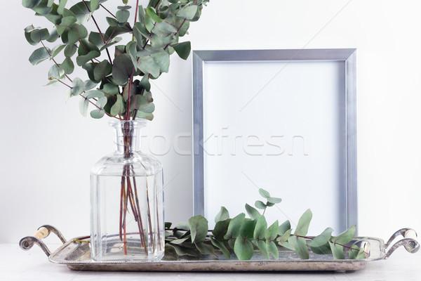 Natural eco home decor Stock photo © neirfy