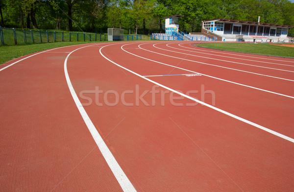 racetrack path Stock photo © neirfy