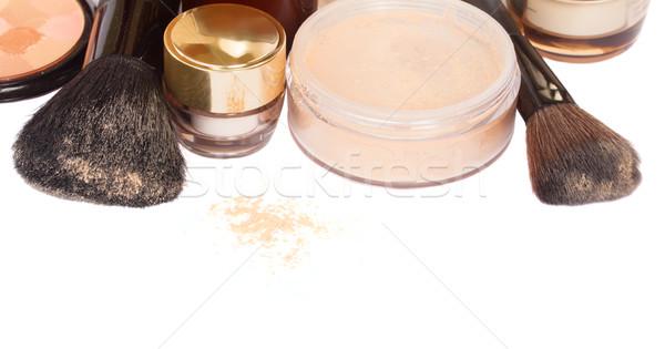 基本 化粧 製品 孤立した 白 背景 ストックフォト © neirfy