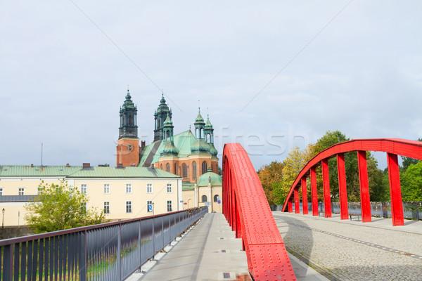 Puente gótico catedral iglesia Polonia edad Foto stock © neirfy