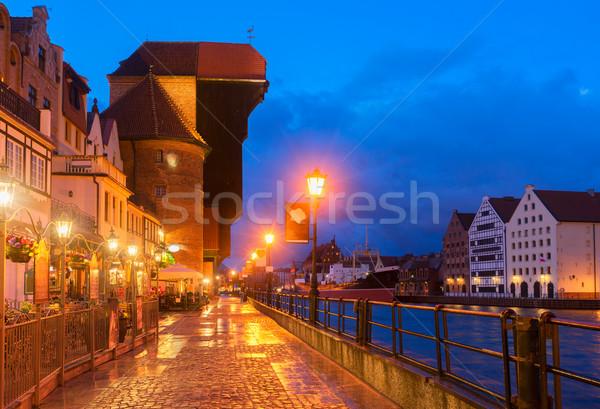 View of Gdansk, Poland Stock photo © neirfy