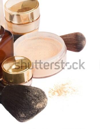 基本 化粧 製品 ソフト 孤立した 白 ストックフォト © neirfy