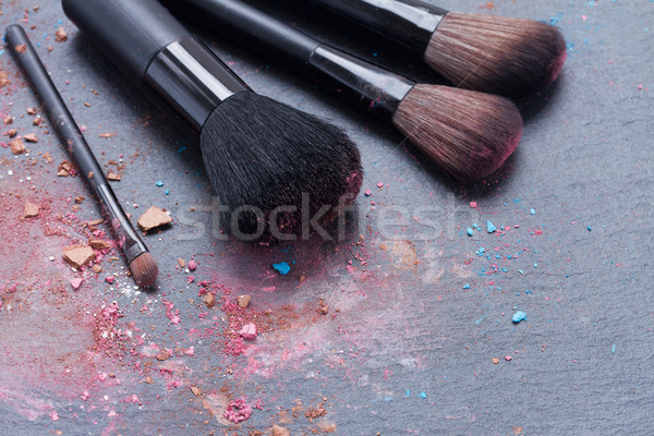 make up brushes  Stock photo © neirfy