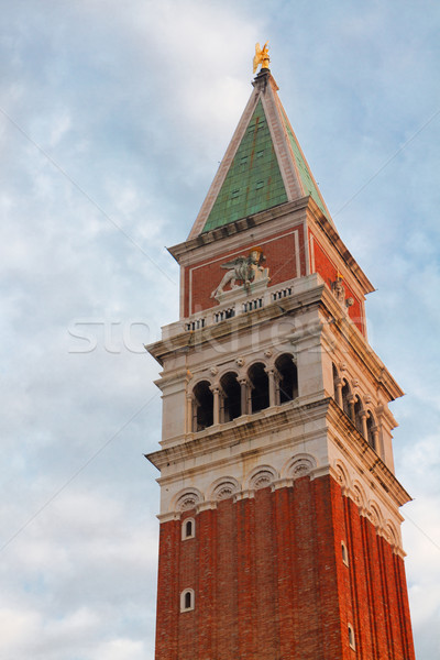 San Marco Bell tower, Venice Stock photo © neirfy
