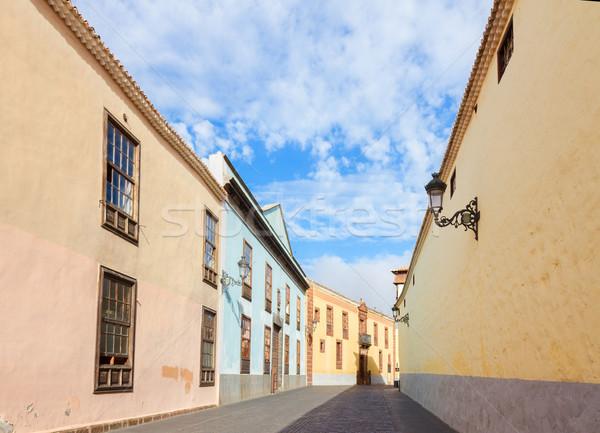 La Laguna, Tenerife island, Spain Stock photo © neirfy