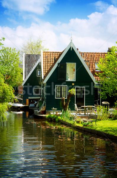 сельский голландский декораций Нидерланды небольшой старые Сток-фото © neirfy