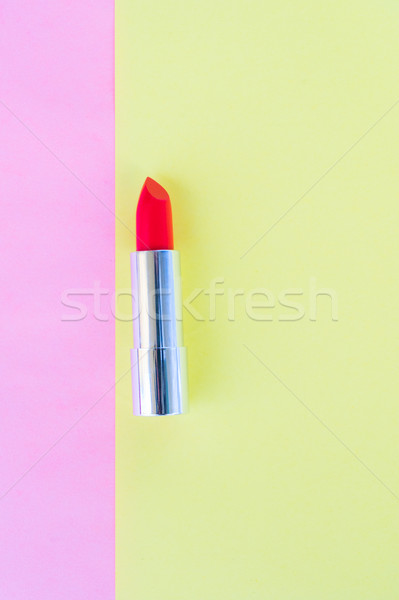 c637c533f6 Colorful make up flat lay scene stock photo © Anastasy Yarmolovich ...