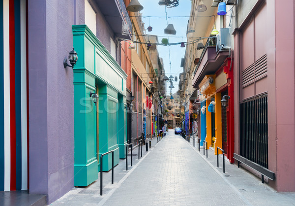 Street of Athens, Greece Stock photo © neirfy