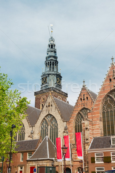 Oude Kerk, Amsterdam, Holland Stock photo © neirfy