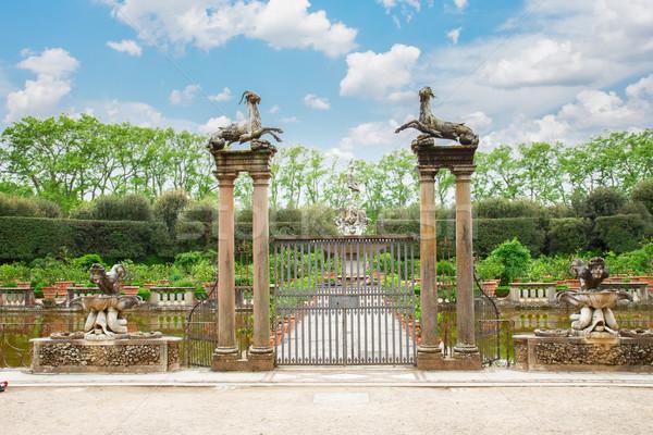 Boboli gardens Stock photo © neirfy