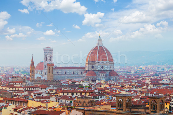 Kathedraal florence Italië kerk bloem Stockfoto © neirfy