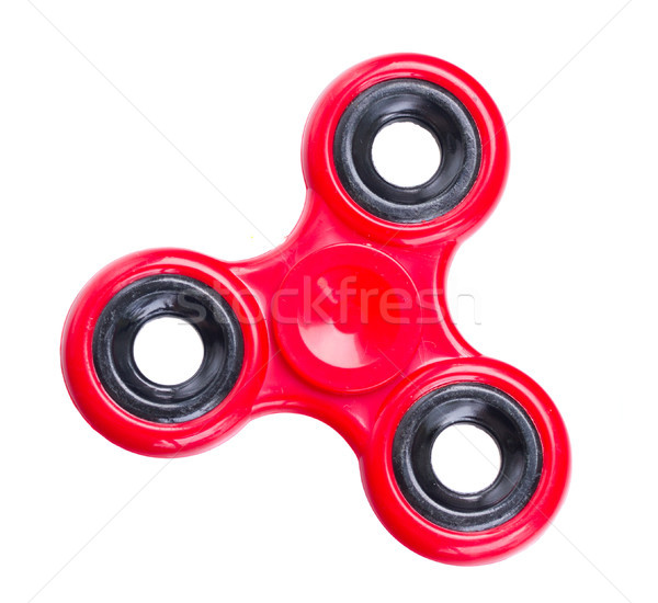 fidget spinner, popular relaxing toy, generic design Stock photo © neirfy