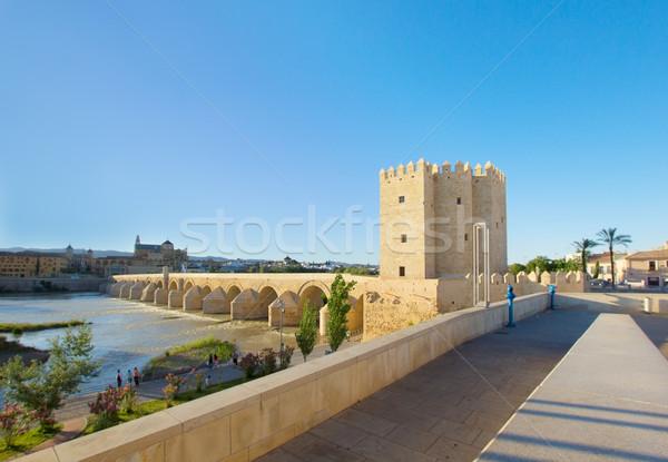 embankment of Guadalquivir river, Cordoba, Spain Stock photo © neirfy