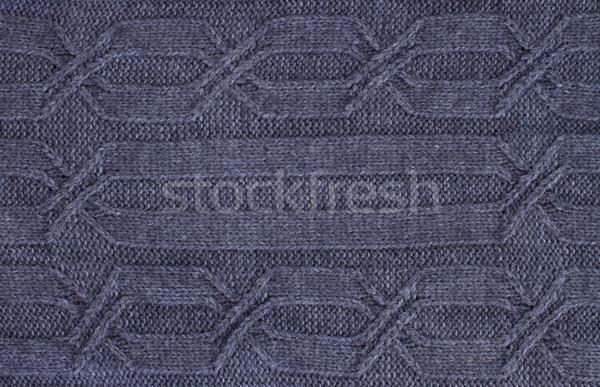 dark gray  sweater texture Stock photo © neirfy