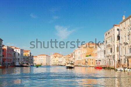 Foto stock: Venecia · casa · Italia · casas · agua · canal