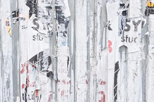 аннотация Гранж старые бумаги текстуры стены Сток-фото © neirfy