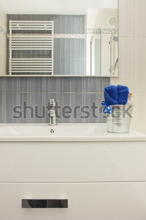 Details of modern bathroom Stock photo © neirfy