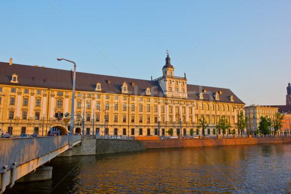 university in  Wroclaw, Poland Stock photo © neirfy
