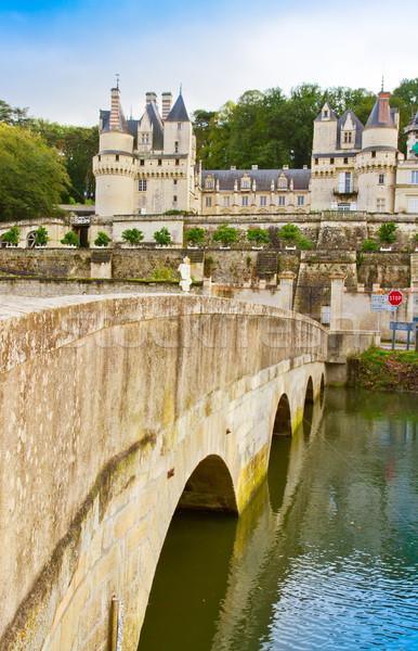 Usse chateau, France Stock photo © neirfy