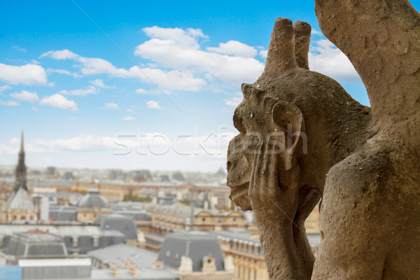 Photo stock: Cathédrale · Notre-Dame · France · ville · Paris · église