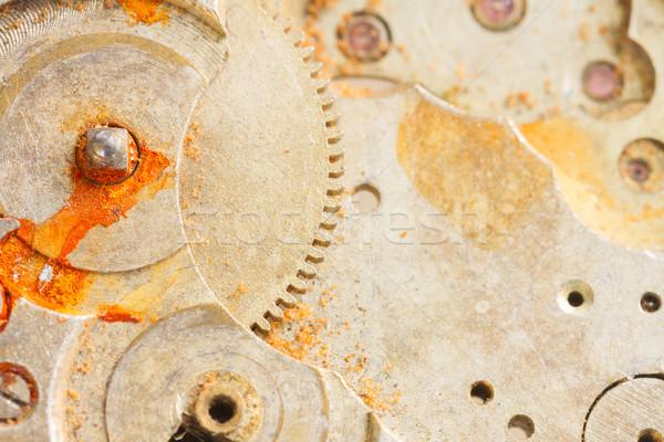 clockwork background Stock photo © neirfy