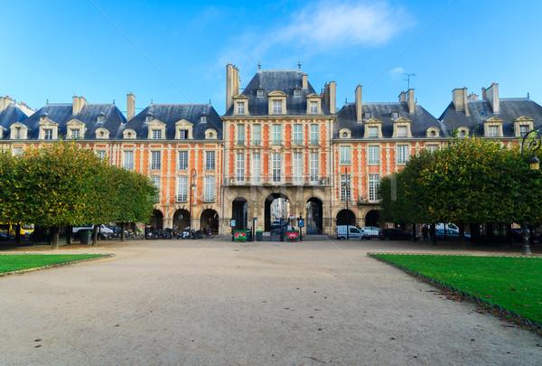 Lugar París vista Francia edificio ciudad Foto stock © neirfy