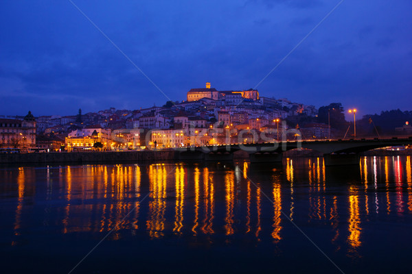 old town of Coimbra, Portugal Stock photo © neirfy