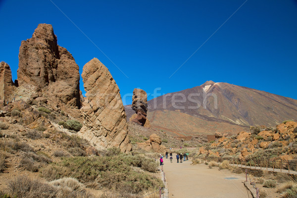Mount Teide, Tenerife Stock photo © neirfy