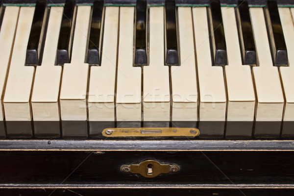 piano keyboard Stock photo © neirfy