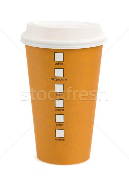 take away coffee Stock photo © neirfy
