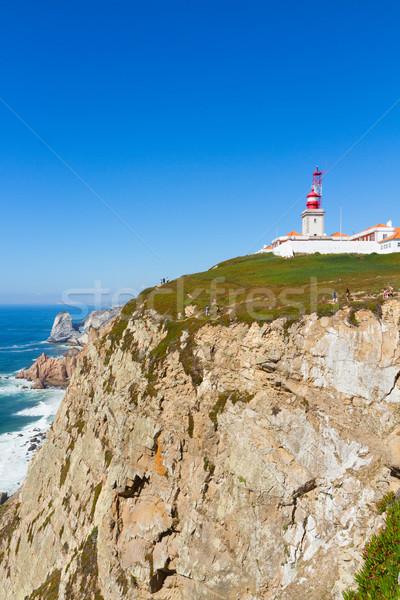 Portogallo occidentale Europa verticale shot Foto d'archivio © neirfy