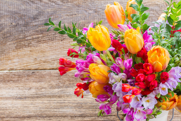 freesia and  flowers Stock photo © neirfy
