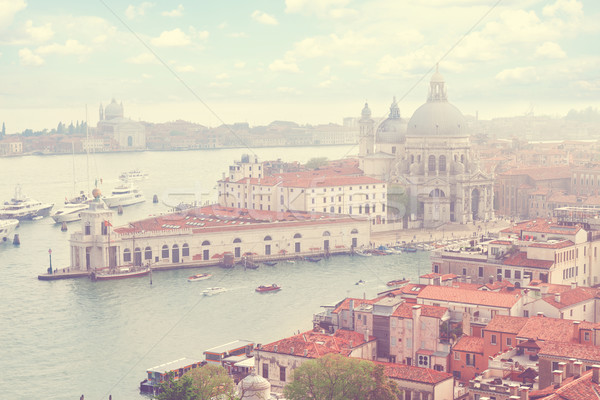Basiliek Venetië Italië kanaal boven Stockfoto © neirfy