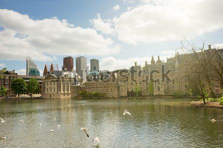 Parlement Pays-Bas vue bureau maison Photo stock © neirfy