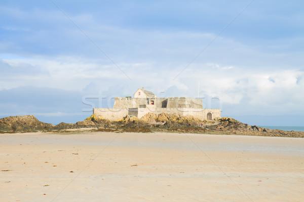 Fort santo Francia fortezza isola spiaggia Foto d'archivio © neirfy