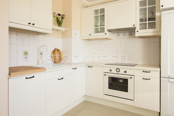 rustic kitchen Stock photo © neirfy