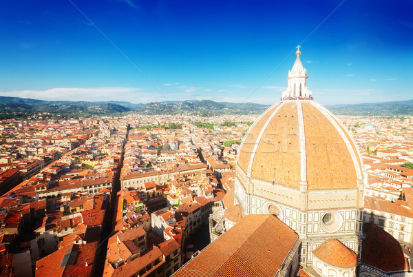 cathedral church Santa Maria del Fiore, Florence, Italy Stock photo © neirfy