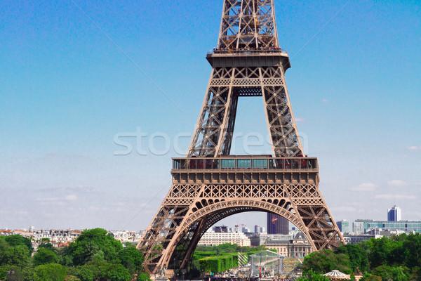 エッフェル塔 パリ 景観 有名な 細部 ストックフォト © neirfy