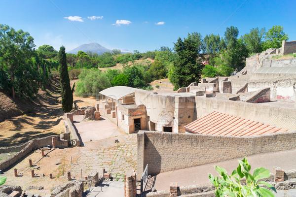 ruins of Pompeii, Italy Stock photo © neirfy