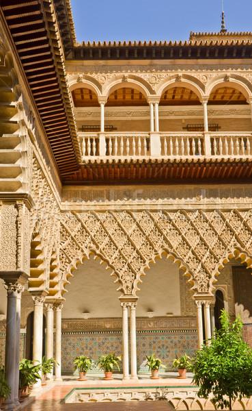 Real Alcazar, Sevilla, Spain Stock photo © neirfy