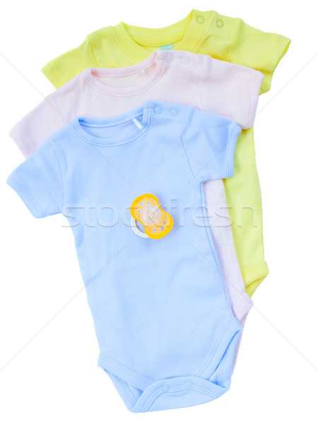 newborn baby clothes Stock photo © neirfy